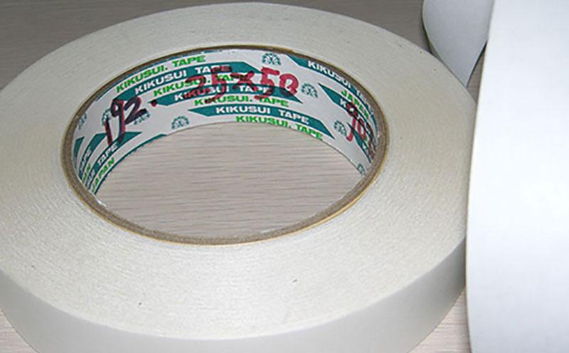 日本菊水高透明PET双面胶带,高透明度,撕除不易断裂,用作电子产品模切胶带,电子双面胶带,手机双面胶带