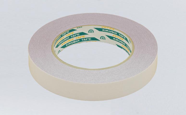 日本进口菊水铝箔双面胶带用于造纸生产线接纸,采用独特铝箔基材,涂覆先进红色亚克力胶层