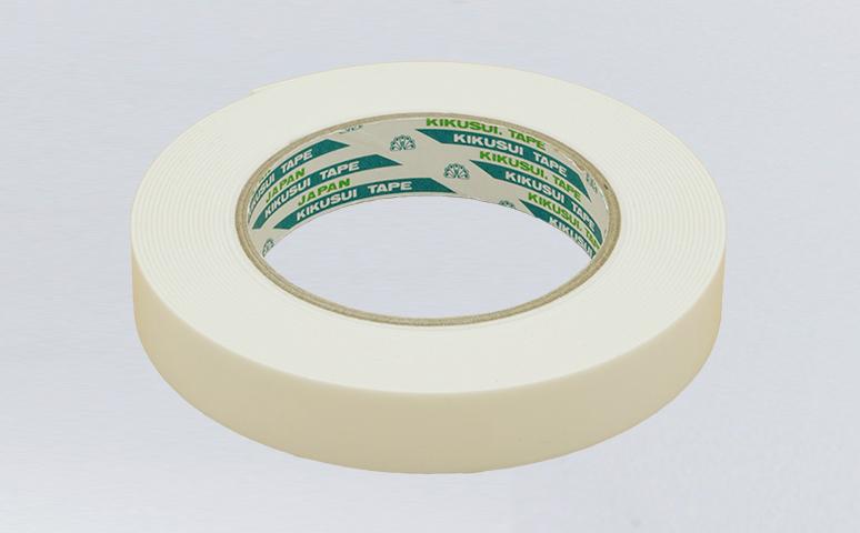 日本菊水泡棉双面胶带,可用于粘贴指示牌,塑料和金属零件,标志等,双面粘贴性能持久,可用于浴室配件粘贴