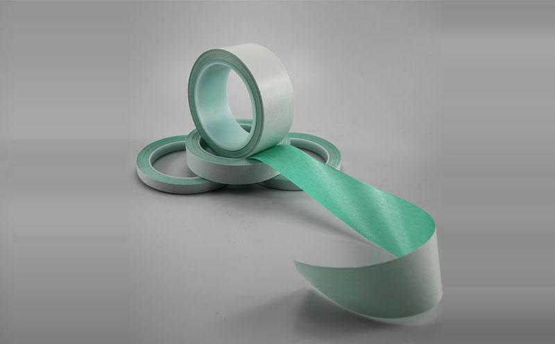 日本菊水薄膜接膜超薄双面胶带,pet超薄基材,用于薄膜工厂换卷接膜胶带,复卷机管芯起卷胶带,封卷胶带