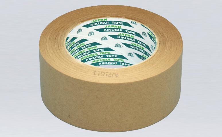 日本菊水无淋膜涂层牛皮纸胶带,原纸牛皮纸胶带,橡胶防滑牛皮纸胶带,天热橡胶粘合剂,符合ROSH环保要求