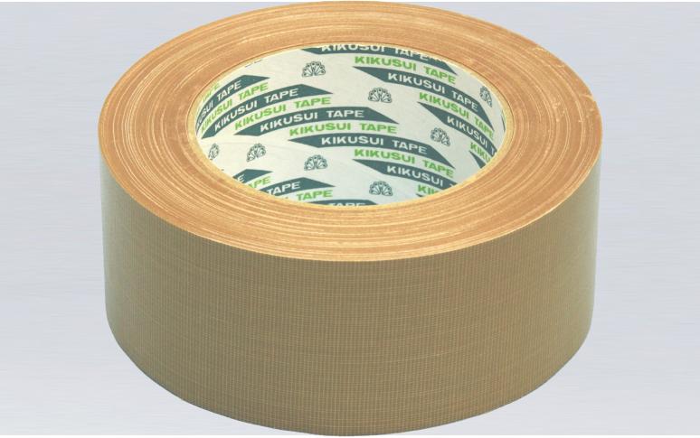 进口日本菊水彩色重型包装布基胶带,多颜色可选,超厚橡胶胶层,抗拉力超强,低VOC,通过汽车行业严格环保检测