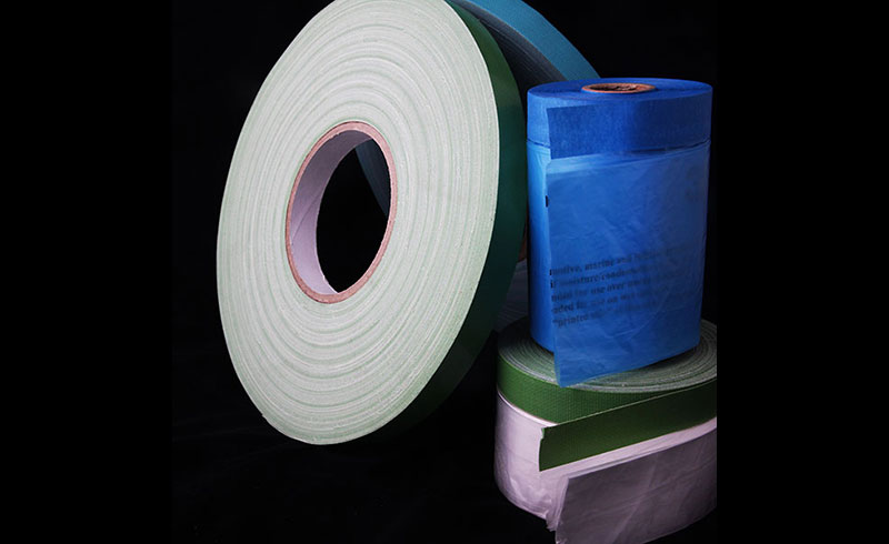 进口韩国遮蔽膜专用布基胶带,抗老化,喷涂遮蔽胶带,幕墙施工遮蔽布基胶带,汽车喷漆遮蔽布基胶带,展厅电缆布线布基胶带
