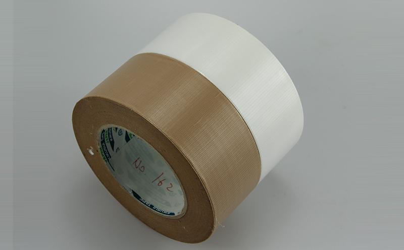 进口日本菊水包装用PE编织布胶带,基材轻薄,易于松卷,易撕胶带,防水,抗溶剂侵蚀性能强,多种颜色可选