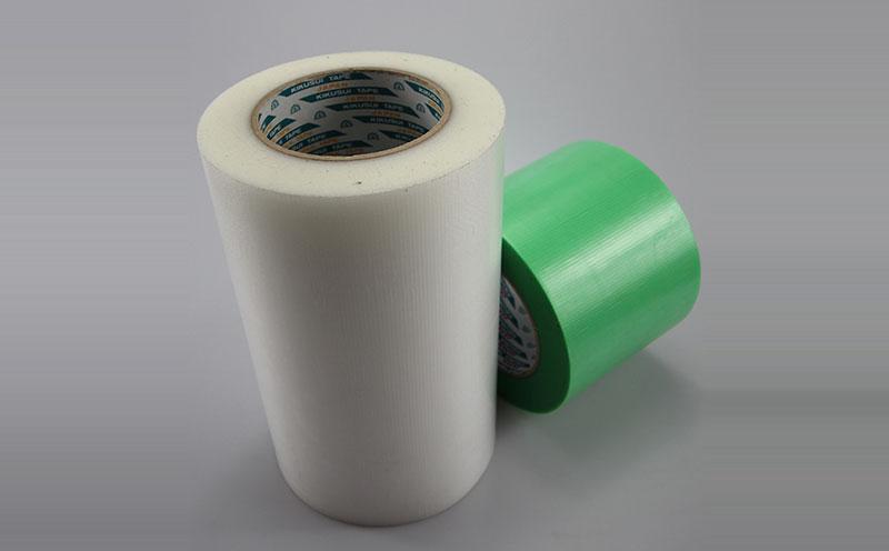 原装进口日本菊水编织布半透明遮蔽胶带,耐候性好,粘剂残留物少,用于瓷砖固定胶带,家具固定胶带,无残胶养生胶带