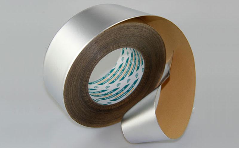 日本进口菊水环保空调铝箔胶带用于空调设备管道密封保温缠绕,环保无甲醛,低挥发胶层,低VOC铝箔胶带