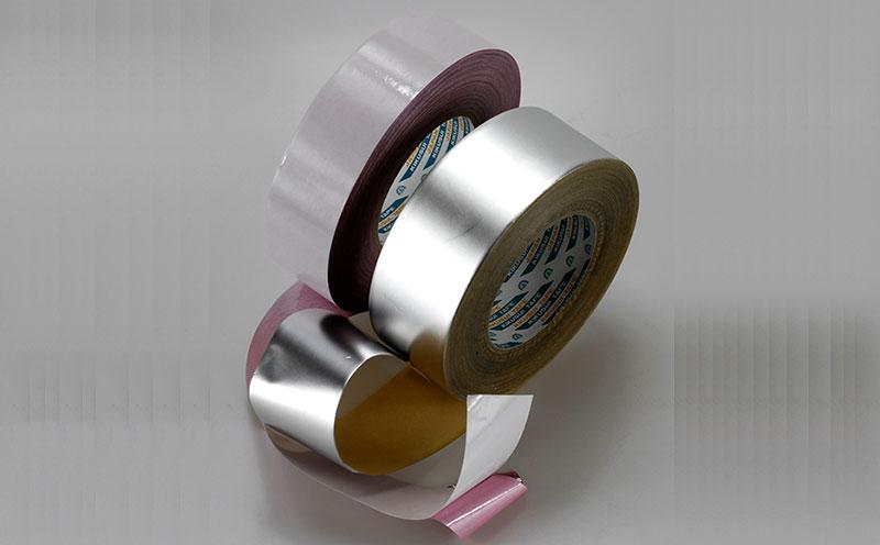 日本进口菊水空调铝箔胶带用于空调管线密封,厚度仅50微米,有良好的隔热和全天候适用性